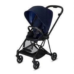 Cybex -  2019 Mios 2 Complete Stroller Matte Black - Indigo Blue