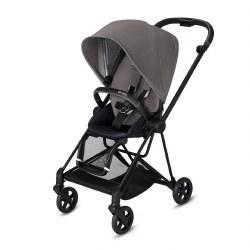 Cybex -  2019 Mios 2 Complete Stroller Matte Black - Manhattan Grey