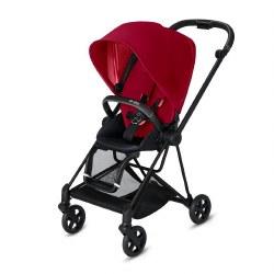 Cybex -  2019 Mios 2 Complete Stroller Matte Black - True Red