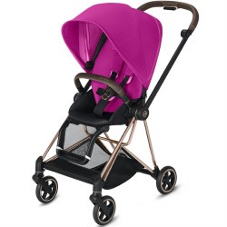 Cybex -  2019 Mios 2 Complete Stroller Rose Gold - Fancy Pink