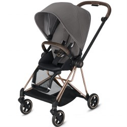 Cybex -  2019 Mios 2 Complete Stroller Rose Gold - Manhattan Grey