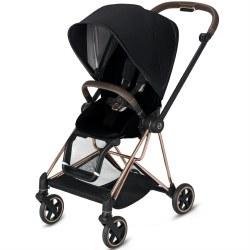 Cybex -  2019 Mios 2 Complete Stroller Rose Gold - Premium Black