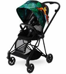 Cybex -  Mios Complete Stroller Black - Birds of Paradise