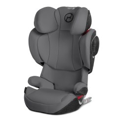 Cybex -  Solution Z-Fix Booster Car Seat - Manhattan Grey