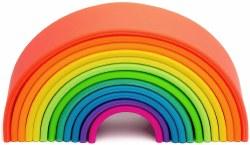 Dena Toys - Silicone Large Neon Rainbow
