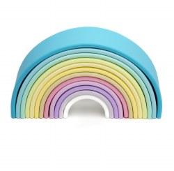 Dena Toys - Silicone Large Pastel Rainbow