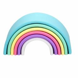 Dena Toys - Silicone Small Pastel Rainbow
