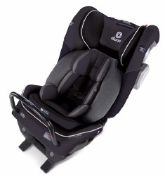 Diono - Radian 3QXT Ultimate 3 Across All-in-One Convertible Car Seat - Black Jet