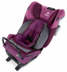 Diono - Radian 3QXT Ultimate 3 Across All-in-One Convertible Car Seat - Purple Plum