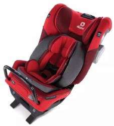 Diono - Radian 3QXT Ultimate 3 Across All-in-One Convertible Car Seat - Red Cherry
