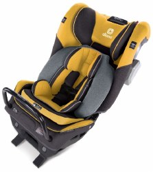 Diono - Radian 3QXT Ultimate 3 Across All-in-One Convertible Car Seat - Yellow Mineral