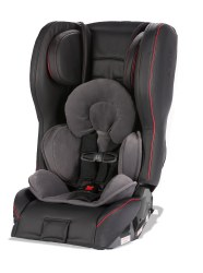 Diono - Rainier 2 AXT Sport Leather All-in-One Convertible Car Seat - Black Red