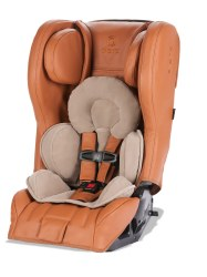 Diono - Rainier 2 AXT Prestige Leather All-in-One Convertible Car Seat - Tan