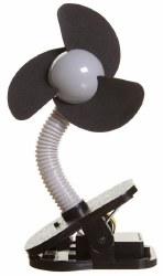 Dreambaby - Stroller Fan Silver & Blk