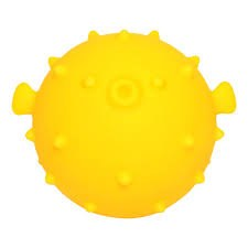 N L - Bath Light Toy - Blowfish Yellow