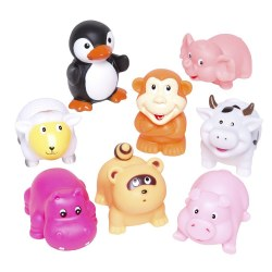 Elegant Baby -  Bath Squirts - Animal Party