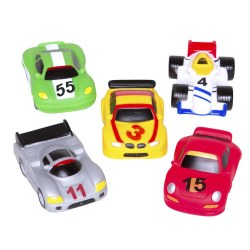 Elegant Baby -  Bath Squirts - Race Car Party