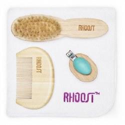 Rhoost - Bamboo Grooming Kit - Teal
