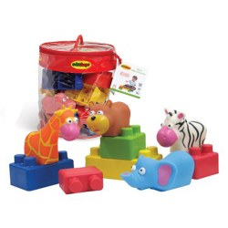 Edushape - Animals 28 Pieces Bag