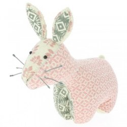 N L - Bookend - Pink Bunny