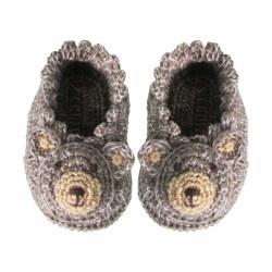 Albetta - Crochete Booties - Bear