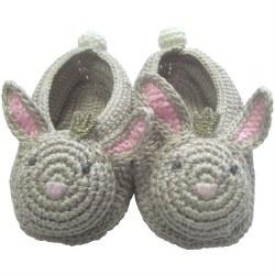 Albetta - Crochete Booties - Bunny