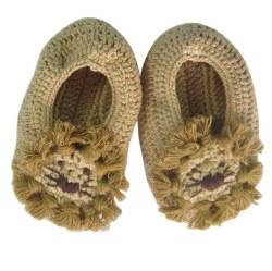 Albetta - Crochete Booties - Lion