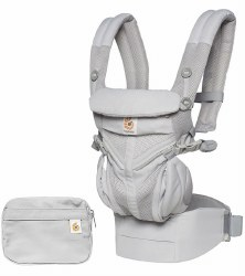Ergobaby - Omni 360 All-In-One Position Carrier - Cool Air - Pearl Grey