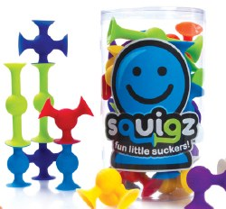 Fat Brain - 24 Piece Squigz StarterSet