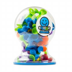 Fat Brain - 50 Piece Squigz DeluxeSet