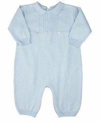 N L - Knit Longall Set - Blue 3M