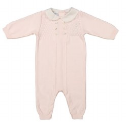 N L - Diamond Lattice Knit Longall - Pink 3M