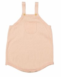 N L - Knit Overalls - Sea Coral 3M