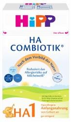Hipp - Hypoallergenic (HA) Stage 1 Combiotic Infant Milk Formula - German Version
