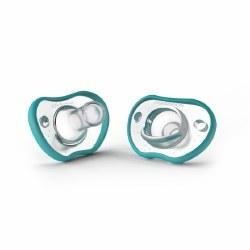 Nanobebe - Flexy Pacifier - Teal 0-3 Months