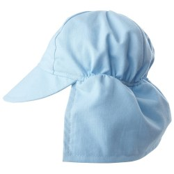 Flap Happy - UPF 50+ Swim Flap Hat - Blue Small