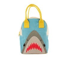 Fluf Textiles - Zipper Lunch Bag - Shark