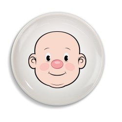 Fred & Friends - Food Face Plate Boy