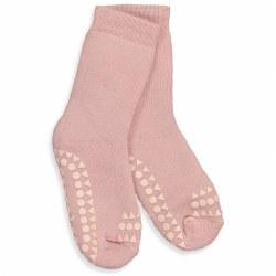 NINI & LOLI FIND -  Non-Slip Socks -Dusty Rose 6-12m