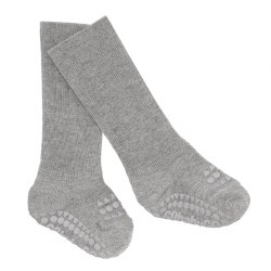 NINI & LOLI FIND -  Non-Slip Socks -Melange Grey 6-12m