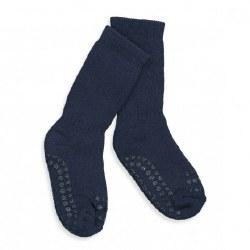 NINI & LOLI FIND -  Non-Slip Socks -Petroleum Buel 6-12m