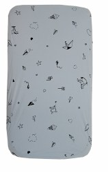 Gootoosh - Bassinet Sheet - Origami Blue