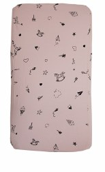 Gootoosh - Bassinet Sheet - Origami Pink