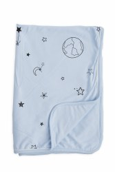 Gootoosh - My Cool Stroller Blanket - Stars Blue