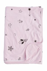 Gootoosh - My Cool Stroller Blanket - Stars Pink