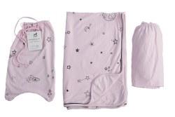 Gootoosh - Crib Bedding Set - Stars Pink