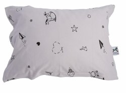 Gootoosh - Pillow Case - Origami Grey