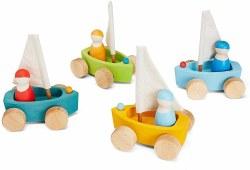Grimm's - Authentic Little Land Yachts Set of 4