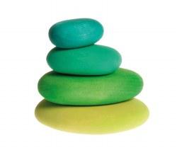 Grimm's - Authentic Pebbles Blocks - Moss