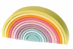 Grimm's - Authentic 12pc Rainbow Pastel *Backorder until End of June 2020*